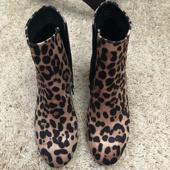 9ff97067b61b a new day Shoes | Leopard Booties | Poshmark